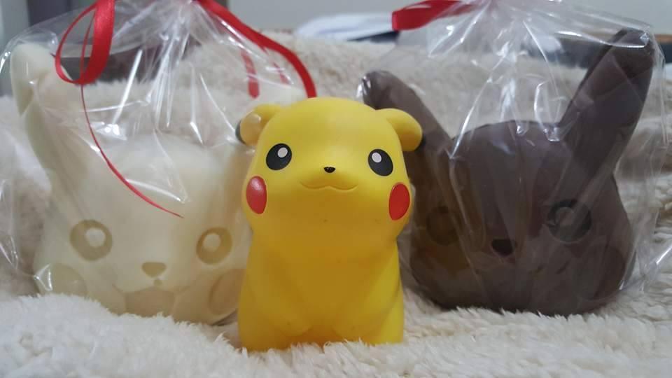 repostería Pokémon cabezas de Pikachu