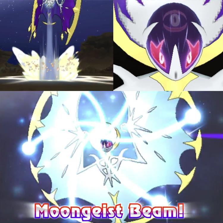 Lunala Moongeist Beam