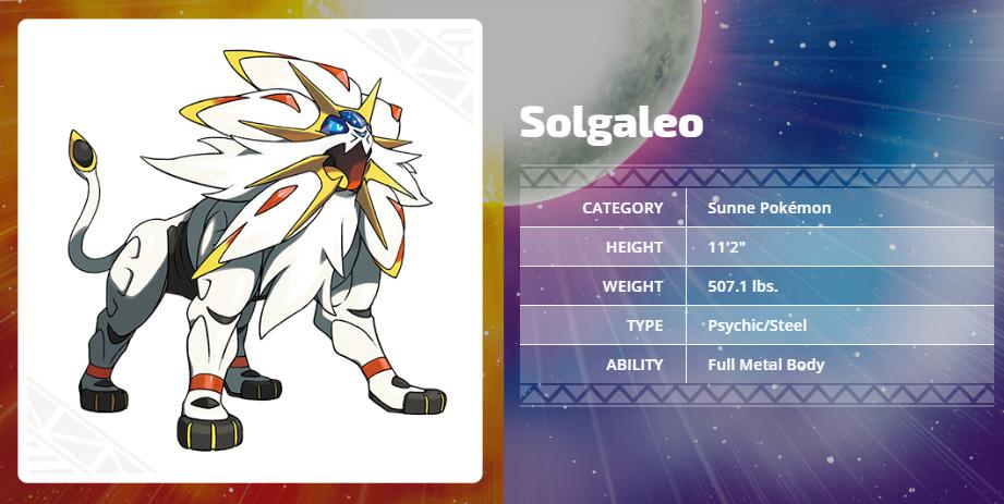 Solgaleo