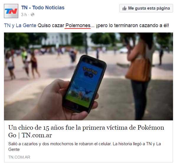 Todo Noticias / Facebook